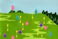 野原にきらめく宝石 02632000106| 写真素材・ストックフォト・画像・イラスト素材|アマナイメージズ