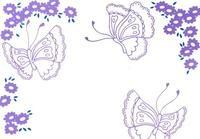 蝶と花 02632000120| 写真素材・ストックフォト・画像・イラスト素材|アマナイメージズ