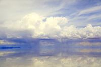 ウユニ塩湖とスコール
