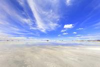 ウユニ塩湖の風景