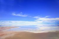 上空から見たウユニ塩湖