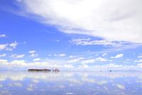 ウユニ塩湖とブラヤブランカ
