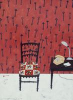 椅子と電話