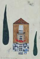 フランス、ヴィルフランシュの建物 02640000021| 写真素材・ストックフォト・画像・イラスト素材|アマナイメージズ