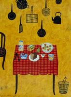 ブランチの並べられたテーブル 02640000023| 写真素材・ストックフォト・画像・イラスト素材|アマナイメージズ
