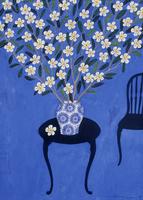 花瓶に活けられた、上に広がるプルメリア 02640000054| 写真素材・ストックフォト・画像・イラスト素材|アマナイメージズ