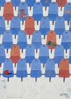 無人の観客席 02640000069| 写真素材・ストックフォト・画像・イラスト素材|アマナイメージズ