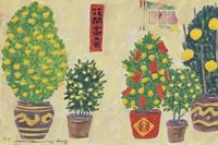 香港の街角に置かれた植物 02640000079| 写真素材・ストックフォト・画像・イラスト素材|アマナイメージズ