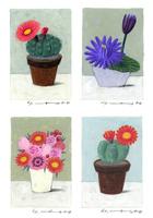 花4種 02640000122| 写真素材・ストックフォト・画像・イラスト素材|アマナイメージズ