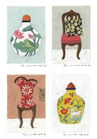 花瓶とイス 02640000125| 写真素材・ストックフォト・画像・イラスト素材|アマナイメージズ