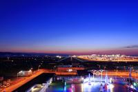 夕暮れの関西空港