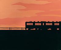 夜汽車 02650000005| 写真素材・ストックフォト・画像・イラスト素材|アマナイメージズ
