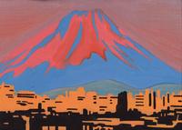 夕並み富士山