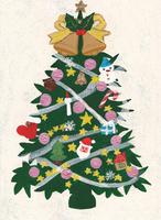 クリスマスツリー 02650000018| 写真素材・ストックフォト・画像・イラスト素材|アマナイメージズ