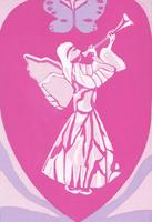 クリスタル天使 02650000090| 写真素材・ストックフォト・画像・イラスト素材|アマナイメージズ
