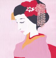 京の舞妓 02650000091| 写真素材・ストックフォト・画像・イラスト素材|アマナイメージズ