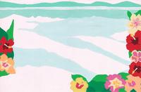 ハイビスカス*海 02650000101| 写真素材・ストックフォト・画像・イラスト素材|アマナイメージズ