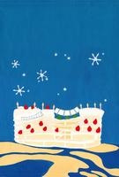 夜景に浮かぶケーキ船 02650000105| 写真素材・ストックフォト・画像・イラスト素材|アマナイメージズ