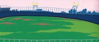 野球場 02650000106| 写真素材・ストックフォト・画像・イラスト素材|アマナイメージズ