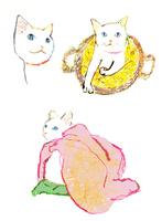 白猫 02653000112  写真素材・ストックフォト・画像・イラスト素材 アマナイメージズ