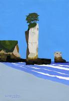 小浜海岸のろうそく岩