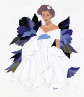 ウエディングドレスを着た女性 02655000145| 写真素材・ストックフォト・画像・イラスト素材|アマナイメージズ