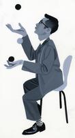 お手玉をする男 02655000169| 写真素材・ストックフォト・画像・イラスト素材|アマナイメージズ