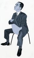 椅子に逆向きで座る男性 02655000173| 写真素材・ストックフォト・画像・イラスト素材|アマナイメージズ
