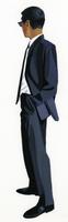 サングラスをかけたスーツの男 02655000187| 写真素材・ストックフォト・画像・イラスト素材|アマナイメージズ