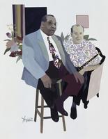 ジャズを奏でる男性二人