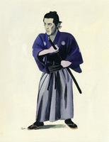 男性・侍 02655000436| 写真素材・ストックフォト・画像・イラスト素材|アマナイメージズ