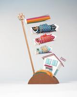 鯉のぼり 02656000025| 写真素材・ストックフォト・画像・イラスト素材|アマナイメージズ