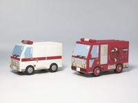 救急車 ポンプ車
