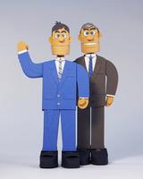2人のビジネスマン