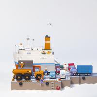 港湾 02656000086| 写真素材・ストックフォト・画像・イラスト素材|アマナイメージズ