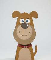 茶色い犬 02656000092| 写真素材・ストックフォト・画像・イラスト素材|アマナイメージズ