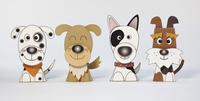 4頭の犬 02656000104| 写真素材・ストックフォト・画像・イラスト素材|アマナイメージズ