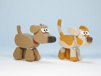 2頭の犬 02656000106| 写真素材・ストックフォト・画像・イラスト素材|アマナイメージズ