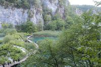 プリトヴィツェ湖群国立公園   遊歩道