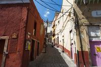 グアナファト カラフルな町並みと通り