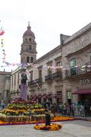 モレリア 死者の日 骸骨で飾られた街