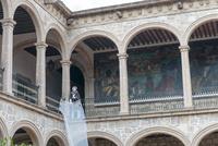 モレリア歴史地区 死者の日 壁画と骸骨