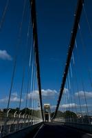 ブリストル 青空とサスペンションブリッジ