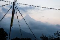 アンナプルナ 旗とフィッシュテイル