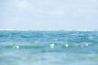 奄美の輝く海