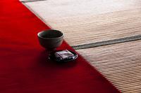 畳とお茶菓子 02667001772| 写真素材・ストックフォト・画像・イラスト素材|アマナイメージズ