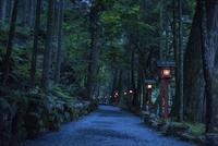 貴船神社 奥の院への道
