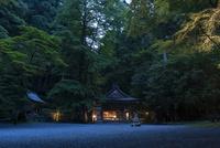 貴船神社 夕暮れの奥の院