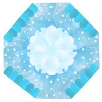 雪輪、雪景色、和の文様 02671000115| 写真素材・ストックフォト・画像・イラスト素材|アマナイメージズ