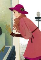 ショーウインドーを覗く女性 02675000030| 写真素材・ストックフォト・画像・イラスト素材|アマナイメージズ